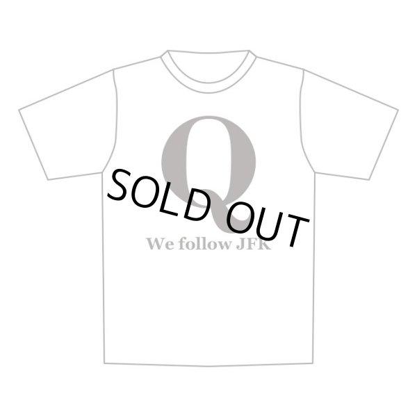 画像1: 予約販売 Q Tシャツ 黒 We follow JFK (1)
