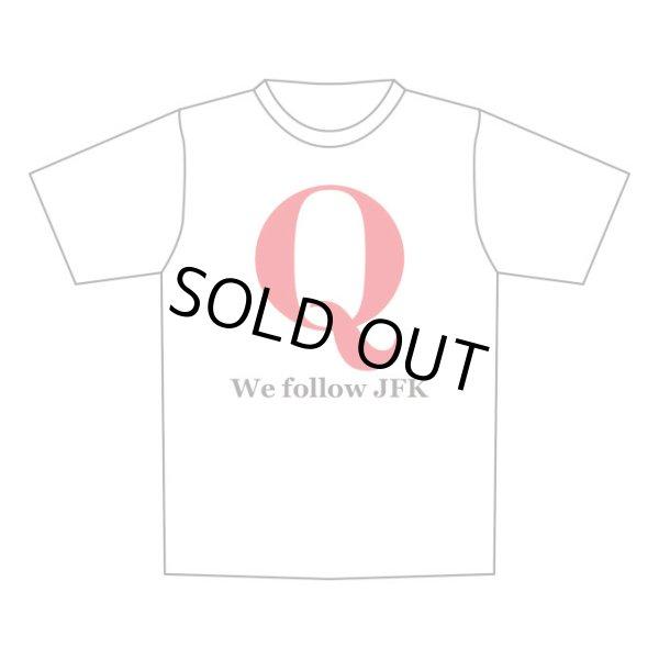 画像1: 予約販売 Q Tシャツ 赤 We follow JFK (1)